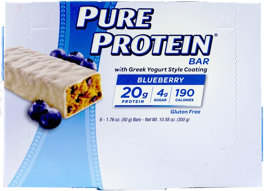 Pure Protein - barra de proteína de alta con yogur griego ...
