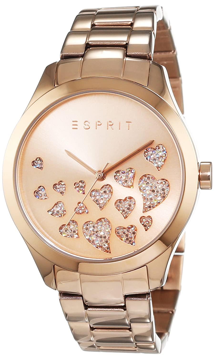 Amazon.com: Esprit Esmee ES107282006 - Wristwatch da Women, Watchband in Stainless Steel color oro rosa: Watches