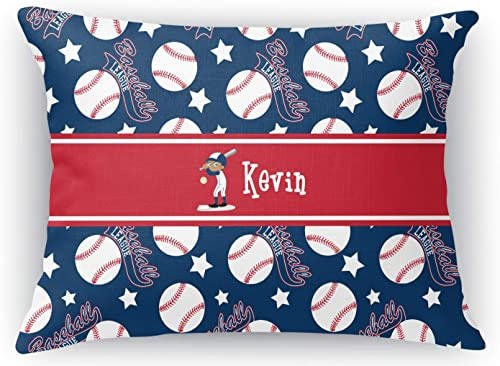 RNK Shops Baseball Rectangular Throw Pillow Case