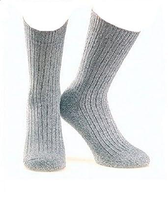 a28e9b5efb698 Wowerat Lot de 3 paires de chaussettes 100 % laine 39 - 49: Amazon.fr:  Vêtements et accessoires