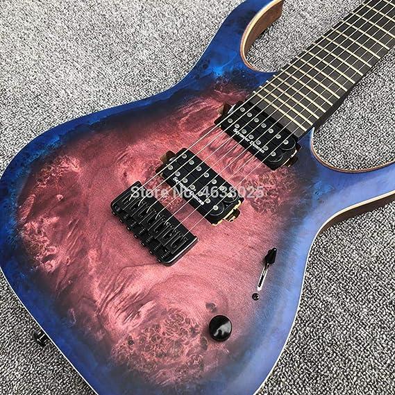 Guitarra eléctrica Duell de 6 o 7 cuerdas con acabado mate ...