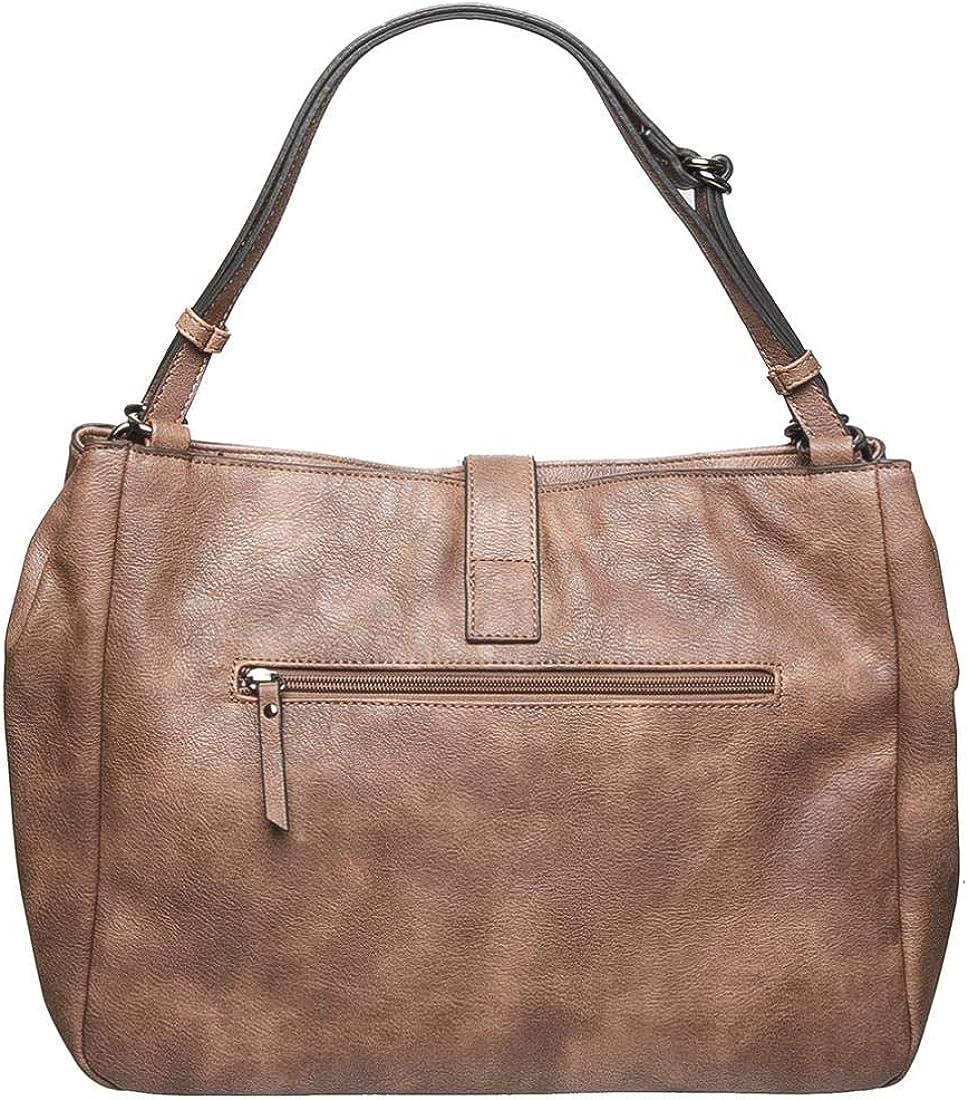 Gabor Women's Sabina Shoulder Bag Brown (Cognac)