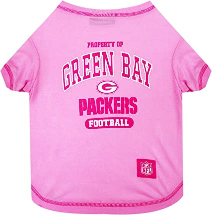 Green Bay Packers NFL Sporty Dog Pet Hoodie T-Shirt Sizes XS-L