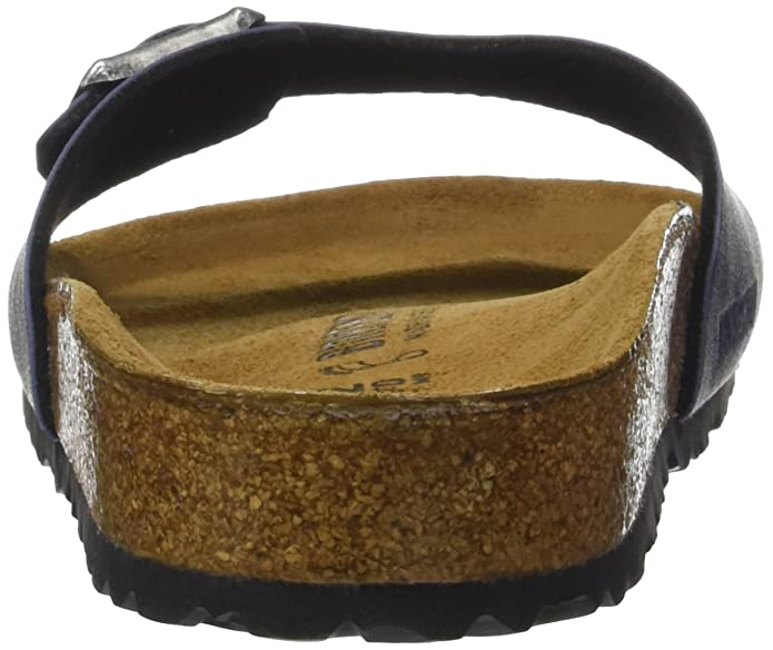 Madrid Eva, Mules Mixte Adulte, Gris (Metallic Anthracite), 42Birkenstock