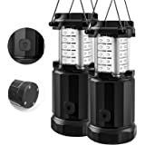 Etekcity Camping Lantern Battery Powered Led Lights with AA Batteries, Upgraded Magnetic Base and Brightness Control Flashlig