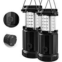 Etekcity Camping Lantern Battery Powered Led Lights with AA Batteries, Upgraded Magnetic Base and Brightness Control…