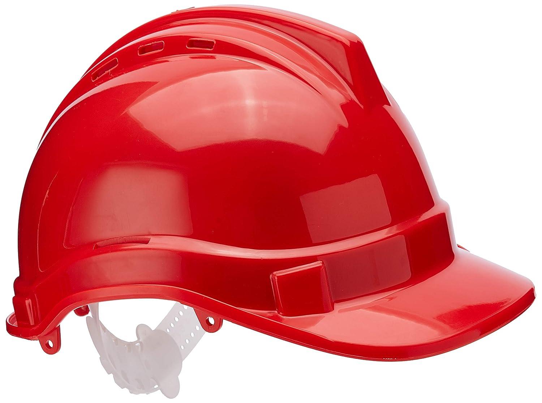 Casco de seguridad Rojo Silverline 868668
