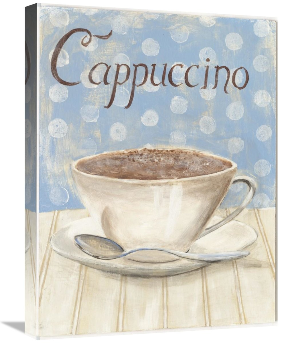 Global Gallery Cappuccino Giclee Stretched Canvas Artwork 18 x 24