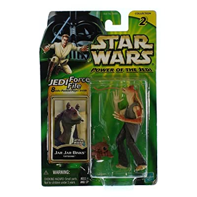 Star Wars: Power of the Jedi > Jar Jar Binks (Tatooine) Action Figure: Toys & Games