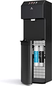 Avalon A13BLK Electric Bottleless Cooler Water Dispenser-3 Temperatures, Self Cleaning, Black Stainless Steel