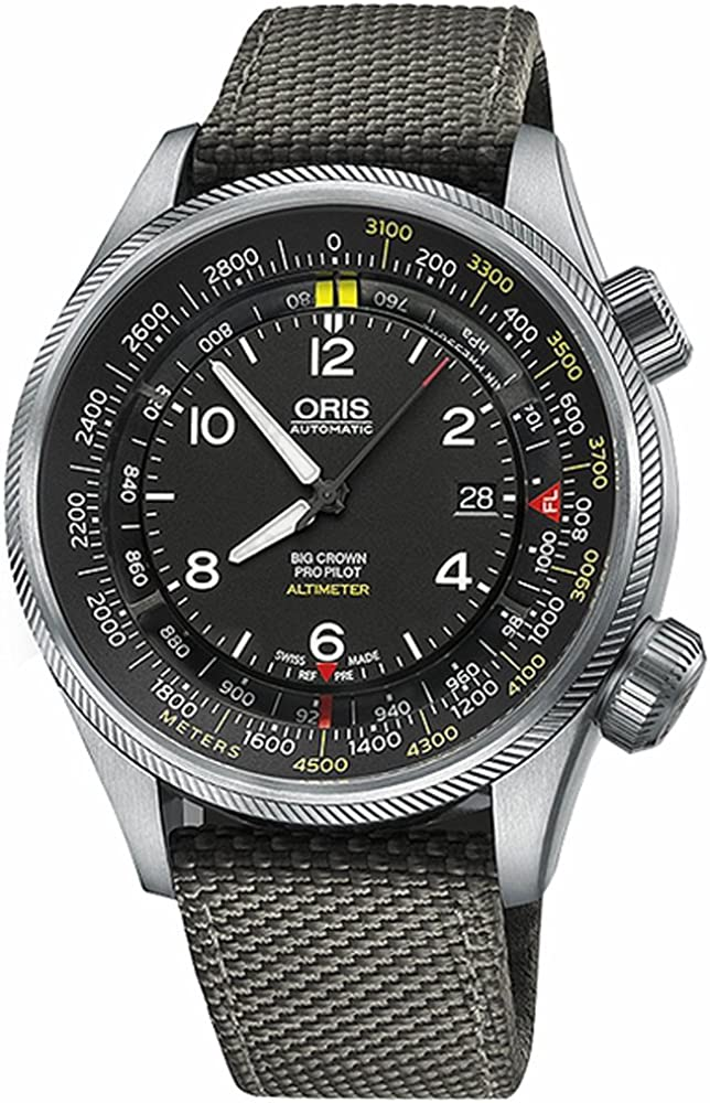 Oris Big Crown ProPilot Altímetro con Escala de medidor 73377054164FS-GREY