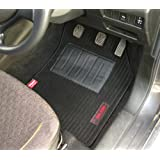 Elegant Cord Black Carpet Car Mats For Maruti Suzuki Baleno 2015 onwards - Set of 5 Pcs