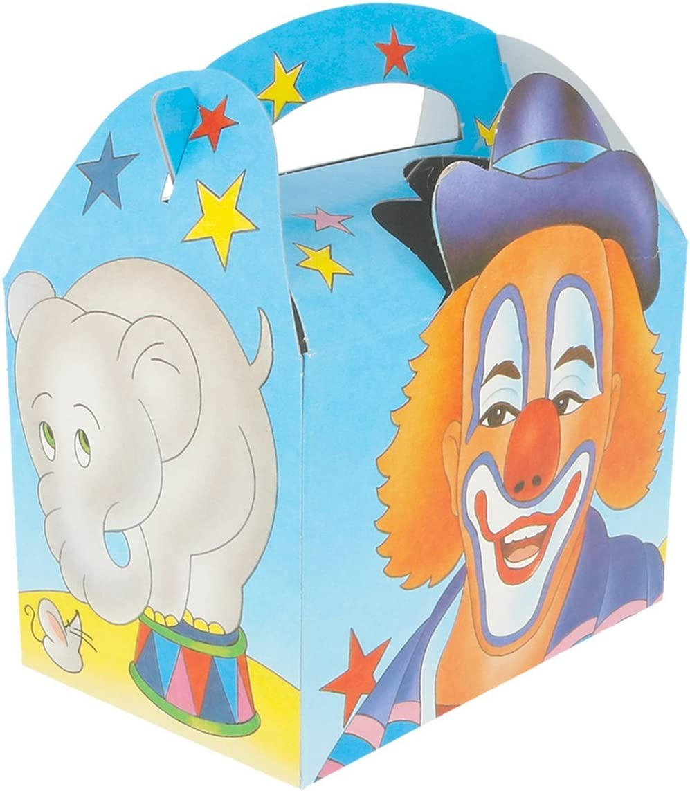 Garcia de Pou Children Boxes Circus Cardboard 17x16x10 CM