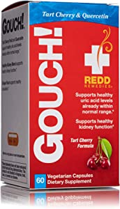 Redd Remedies, Gouch!, Support for Healthy Joints and Uric Acid Levels, 60 Capsules