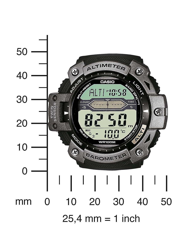 Casio Sports Altimeter Thermometer Sgw 300hd 1avdr Jam Tangan Pria Ampquotseikoampquot Original 1 Sgw300hd Watch Watches