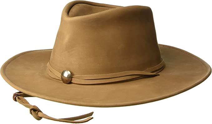 1159 Henschel Walker Western Suede Hat Packable//Crushable-Same Day Shipping