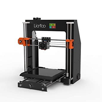 Liantao X1 3D Printer Aluminum DIY with Quick Assemble Semi Auto-Leveling with Free Sample PLA Filament and MicroSD Card Preloaded with Printable ...