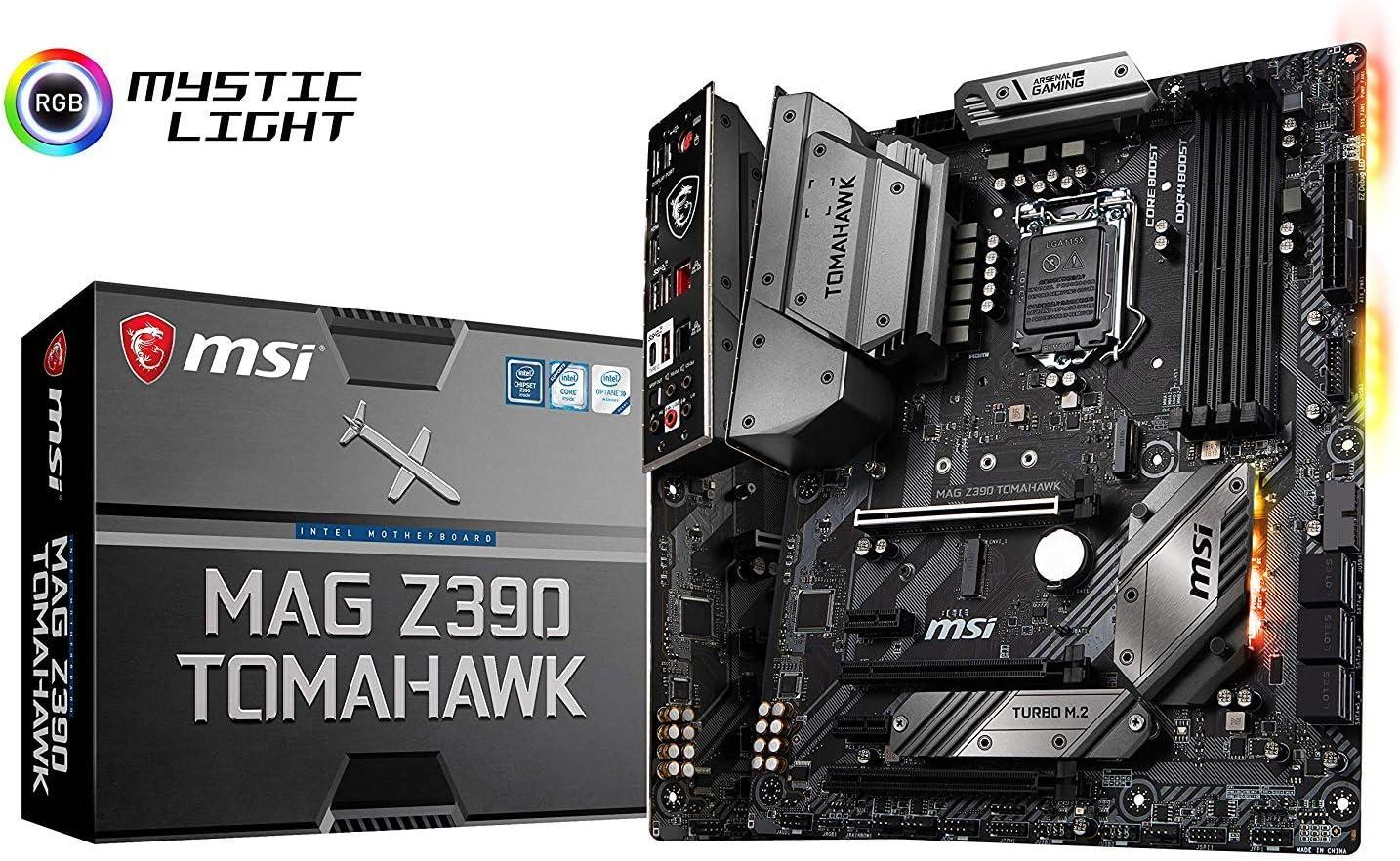 MSI MAG Tomahawk Intel Z390 LGA 1151 ATX DDR4-SDRAM Motherboard