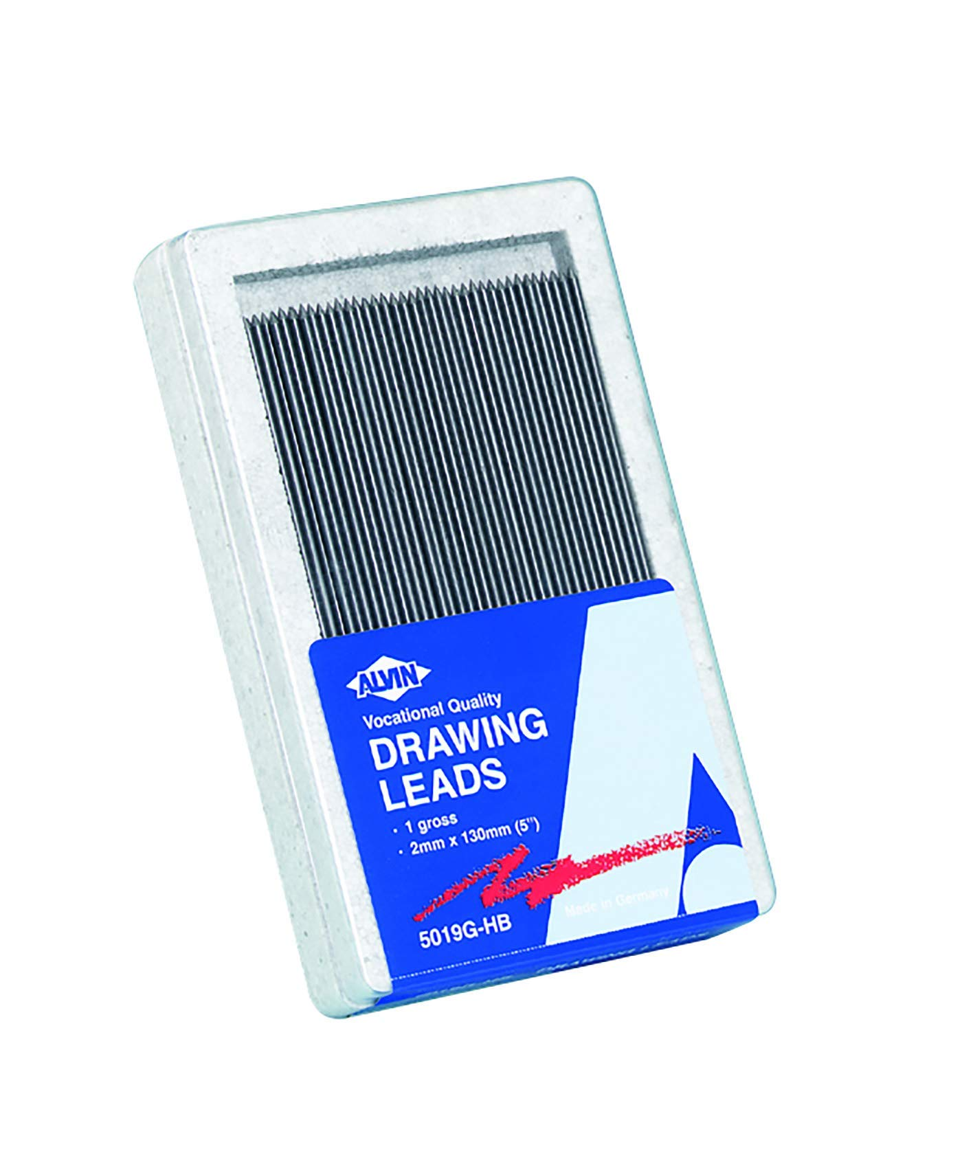 Alvin, Constant, Drawing Lead, Refills for Drafting Pencil, 2 Millimeters - 144 Pack by Alvin