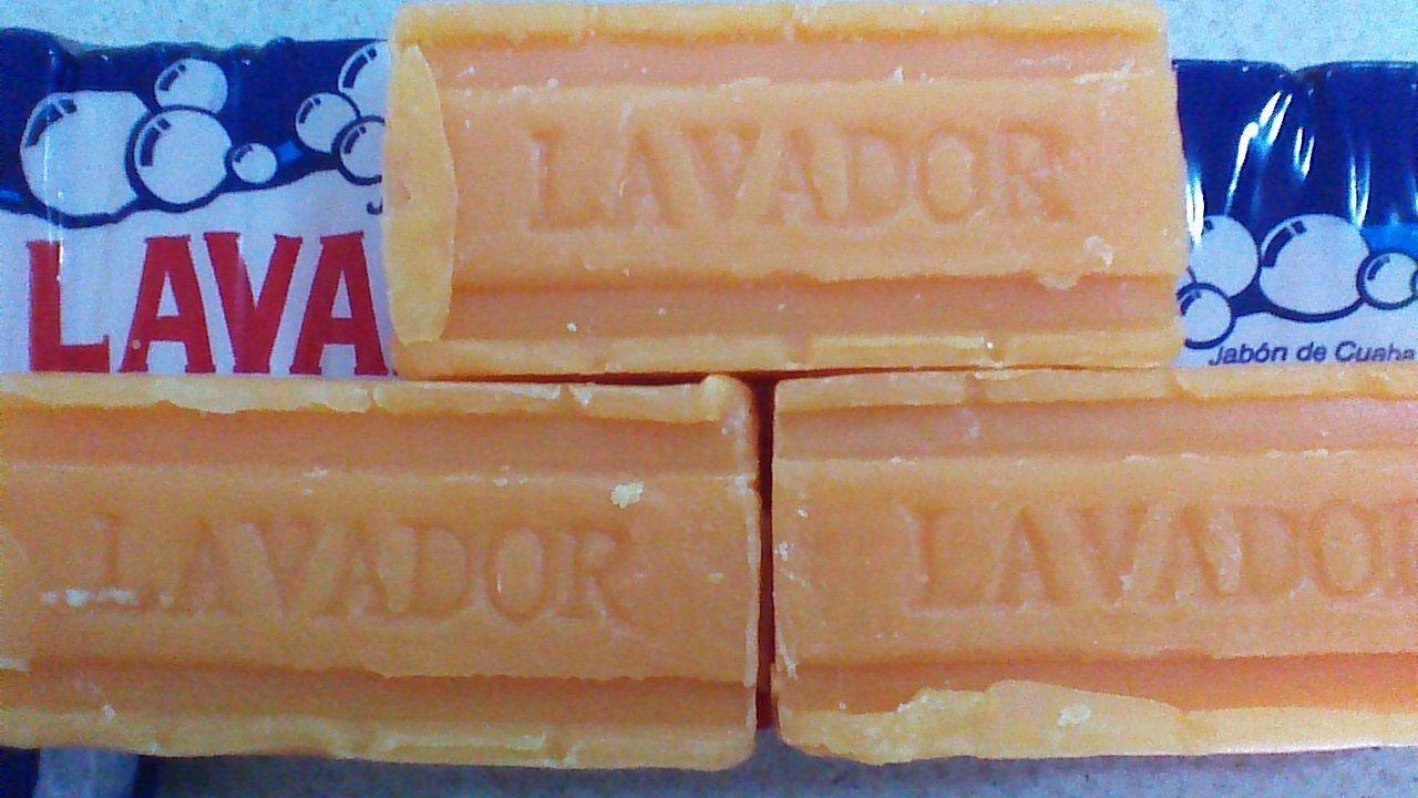 3 JABON DE CUABA LAVADOR SOAP LAVA ROPA, RINDE MAS,LAVE MEJOR