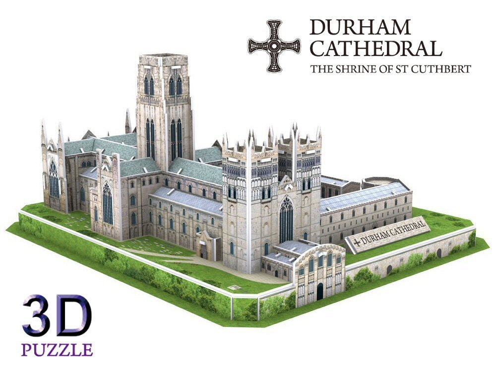 Durham Cathedral 3D Puzzle AWESOME UK