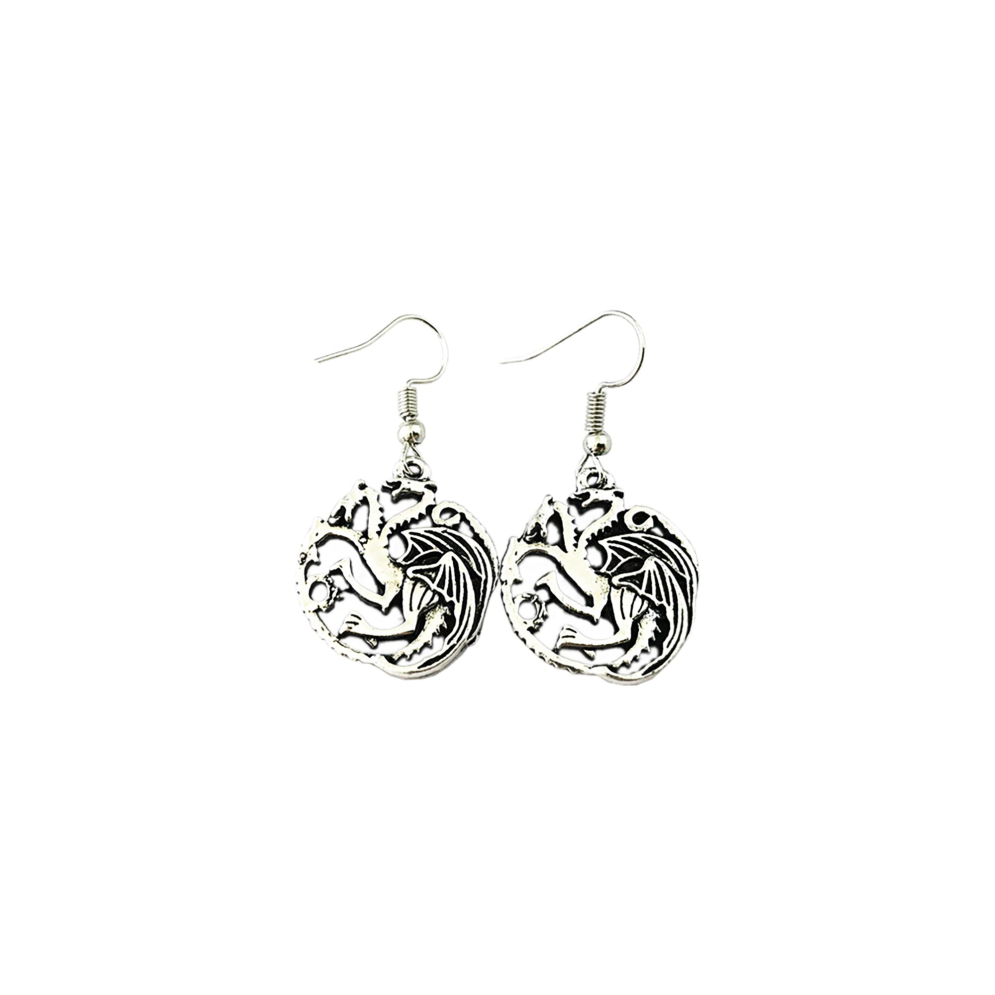 Game of Thrones Targaryen Insignia Earring Dangles In Gift Box from Outlander
