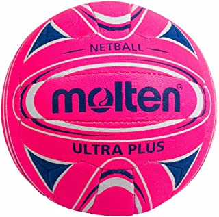 Molten Mixte Rapide de 5 International Netball, Rose, Standard