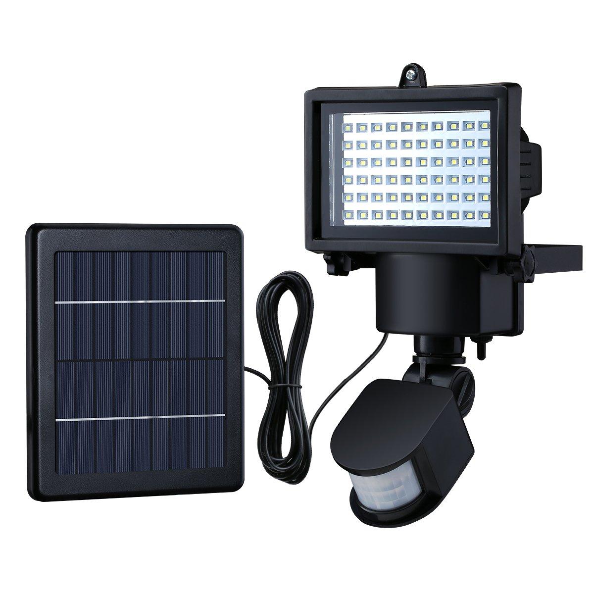 Litom lsl14 bright 60 led solar lights outdoor solar security lights litom lsl14 bright 60 led solar lights outdoor solar security lights with motion sensor aloadofball Images