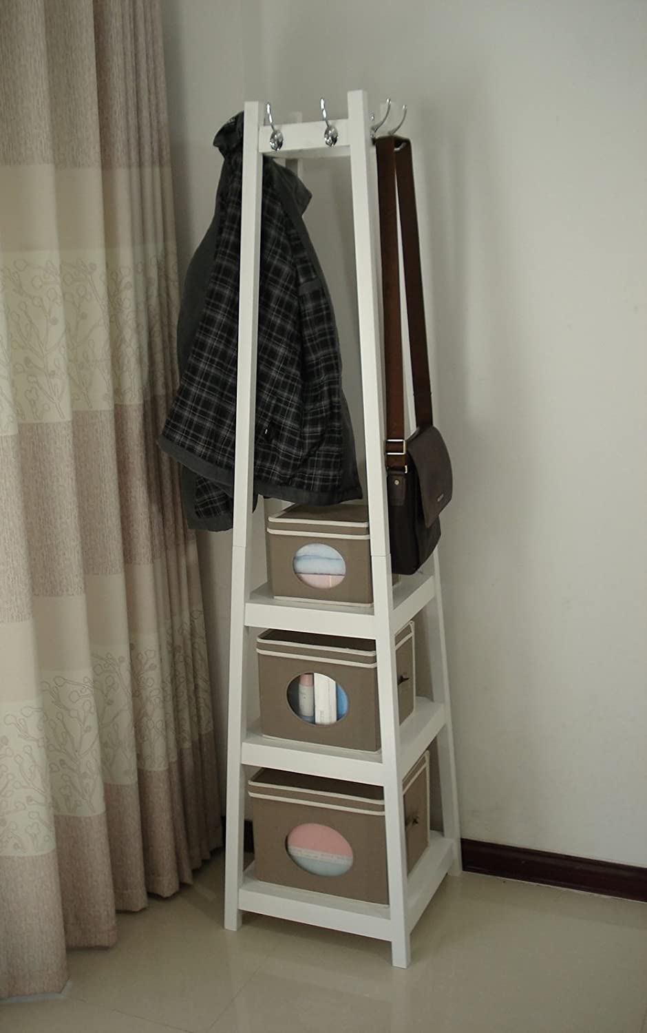 combined stand hall free units calia standing coat hallway ideas rack storage