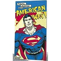 Kids Licensing - DC16014 - Serviette de Plage - Superman