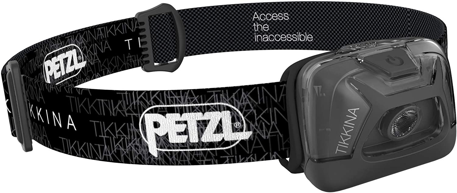 Amazon.com : PETZL - TIKKINA Headlamp, 150 Lumens, Standard Lighting :  Sports & Outdoors
