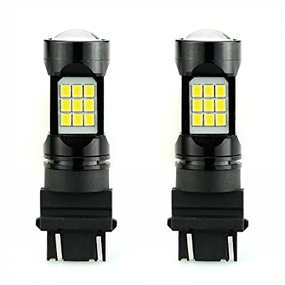 JDM ASTAR Super Bright PX Chips 3056 3156 3057 3157 4057 4157 White LED Bulbs with Projector: Automotive