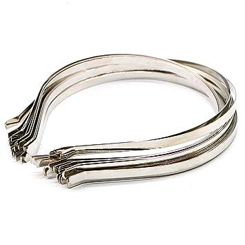 Fashion Blank Plain Metal Headband 5mm Hair Band For Hair Accessories DIY Craft