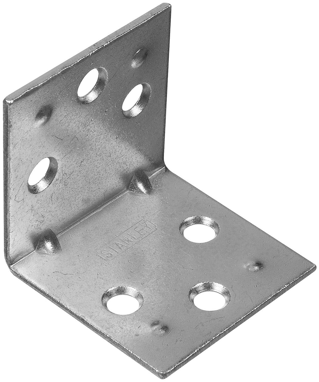 Stanley Hardware S755 680 994 Double Wide Corner Brace in Zinc 1 1 2 2 piece
