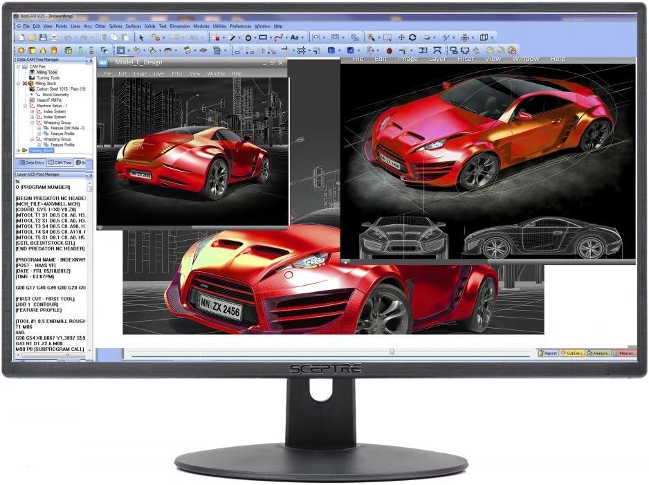 Sceptre E248W-19203R cheapest bezel less monitor