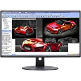 "Sceptre E248W-19203R 24"" Ultra Thin 75Hz 1080p LED Monitor 2X HDMI VGA Build-in Speakers, Metallic Black 2018"