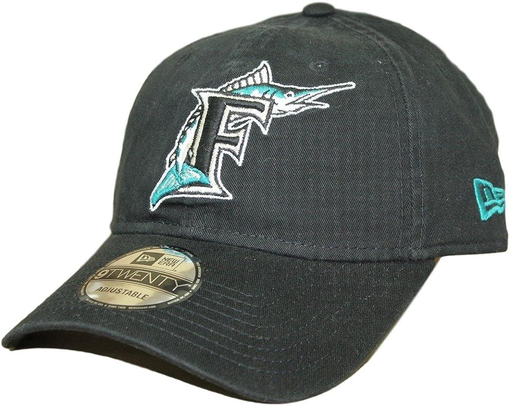 no sale tax footwear buy cheap Amazon.com : New Era Florida Marlins 9Twenty MLB Core Classic ...