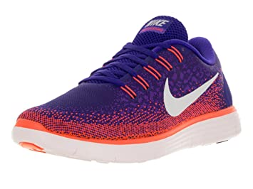 the latest ae5a3 4cab2 ... top quality nike mens free rn distance running shoe 9 purple orange  white 4ba0a e5bf1
