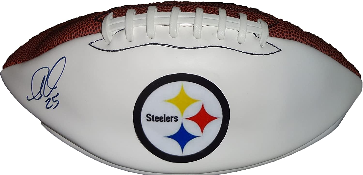 B007ZULJYE Ryan Clark Autographed Pittsburgh Steelers Logo Football W/PROOF, Picture of Ryan Signing For Us, LSU Tigers, New York Giants, Washington Redskins, Super Bowl Champion 71qCHCwaZ-L
