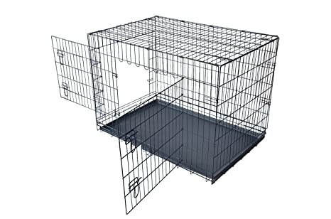 Amazon Paylesshere 42 Xxl Dog Crate Wdivider Double Doors