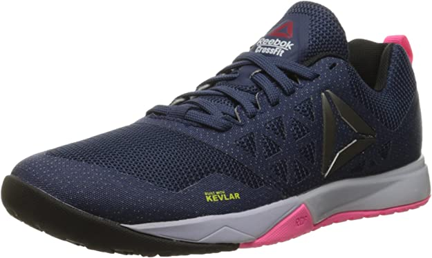 Reebok Nano 9 FU6830 Womens Black Mesh Lace Up Athletic Cross Training Shoes