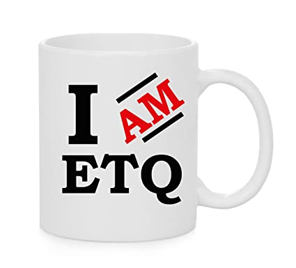 Amazon.com  I Am ETQ Official Mug  Kitchen   Dining 819b1a9ed8