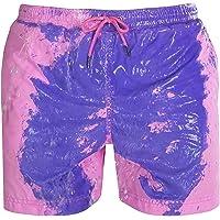 EA-SDN Zwembroek voor heren, temperatuurgevoelig, kleur veranderende strandbroek voor mannen, zomer, stijlvol…
