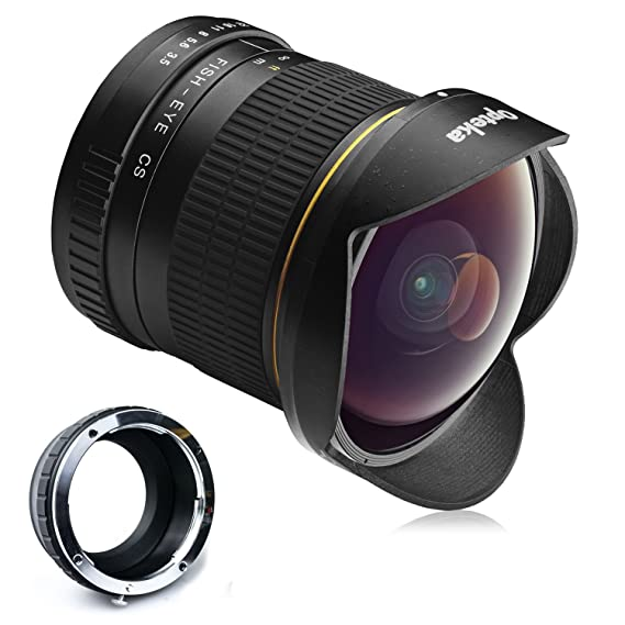 Review Opteka 6.5mm f/3.5 HD