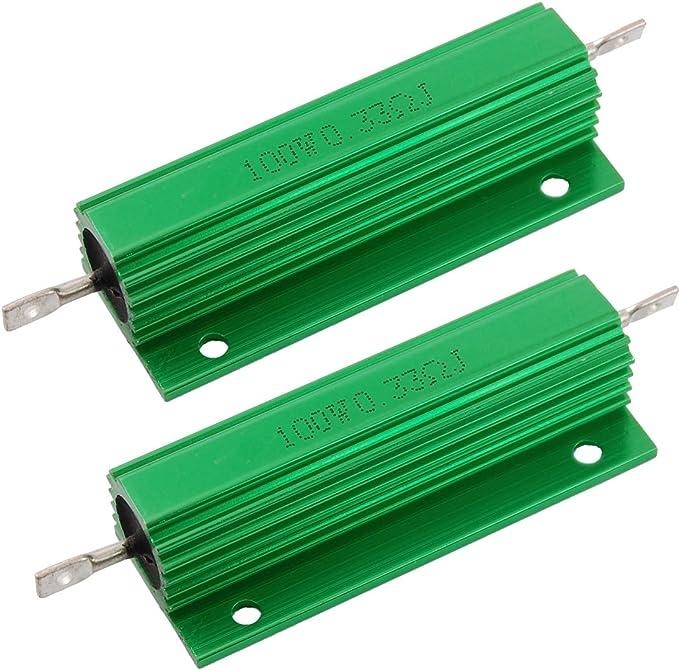 resistor 1//2w size 100R0.6#20 à 250pcs 100 ohms résistance métallisée 0,6w