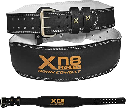 Blade® Weight Lifting Belt Leather Gym Training Fitness Back Men Woman S XXL