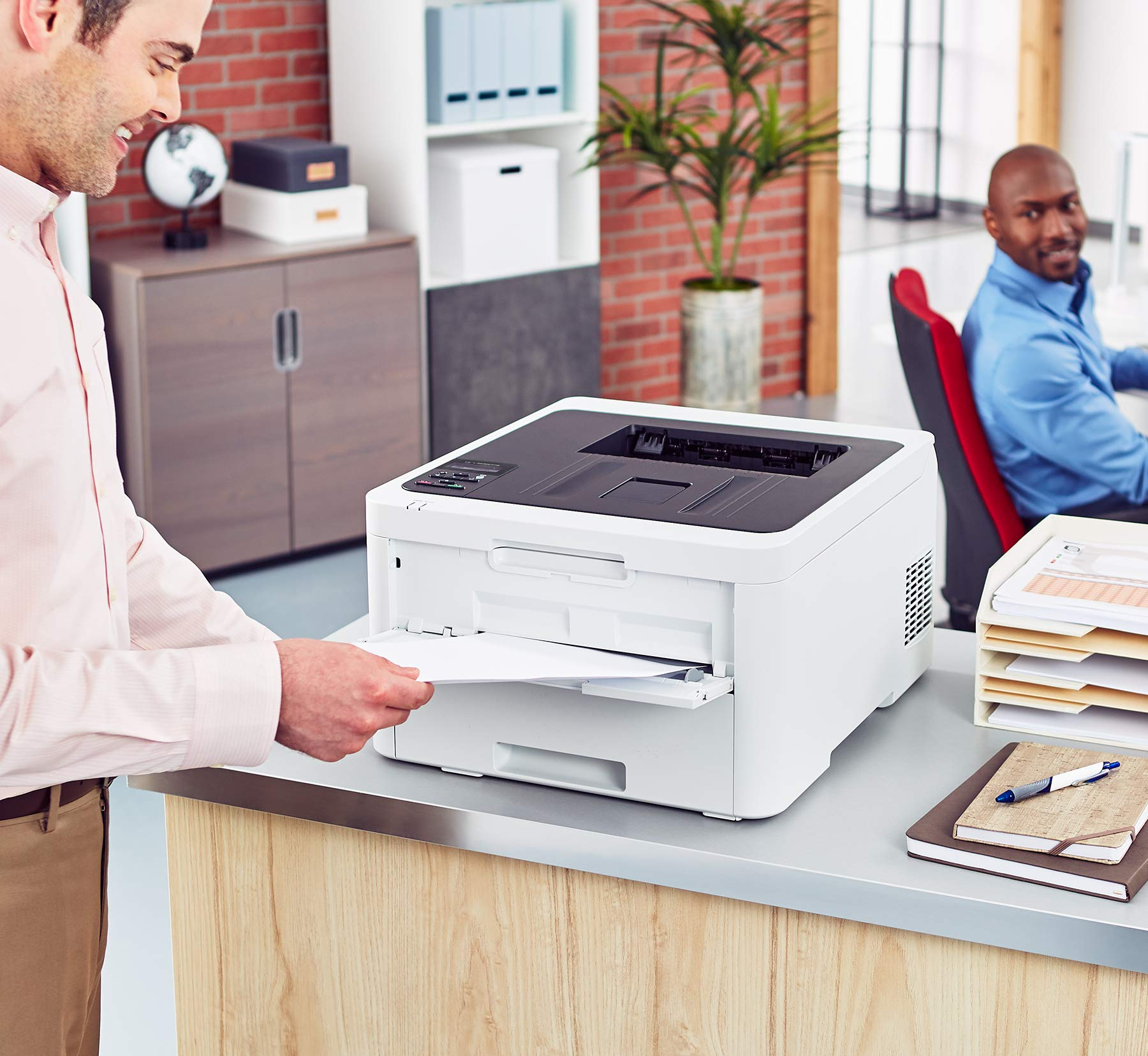 Brother HL-L3230CDW Compact Digital Color Printer Providing Laser Printer Quality Results with Wireless Printing and Duplex Printing, Amazon Dash Replenishment Enabled by Brother (Image #7)