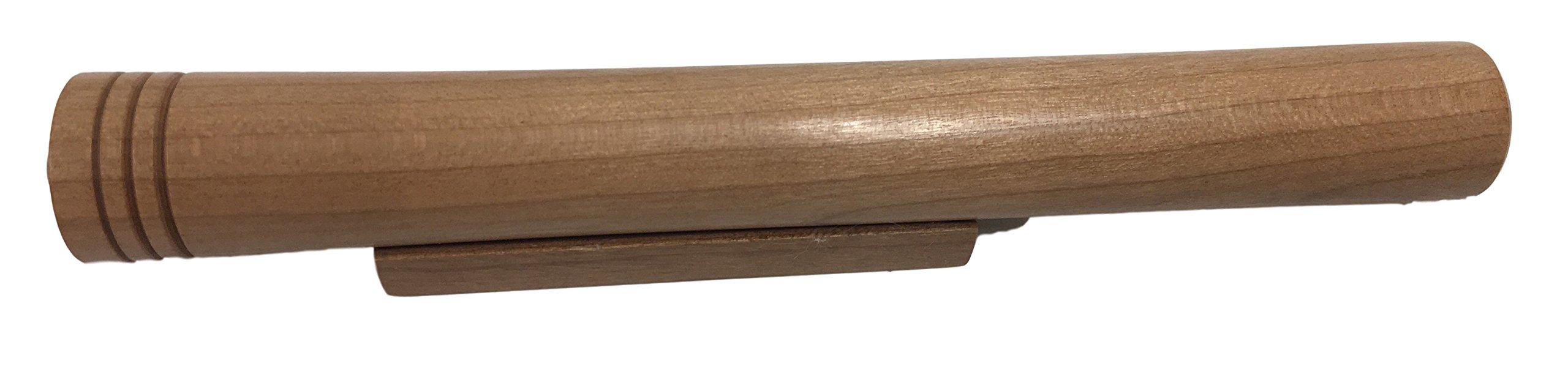 N & J Kaleidoscope Teleidoscope in Solid Cherry Wood, 6 Inches