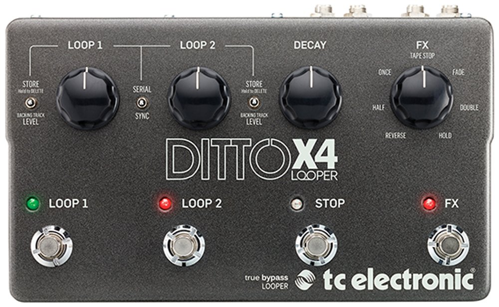 TC Electronic Ditto x4 Dual Track Looper: Amazon.es: Instrumentos ...