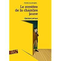 Le mystère de la chambre jaune (Folio Junior.